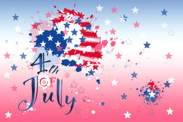 Celebrate 4th of July, Independence day