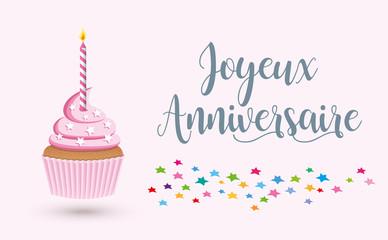 Cupcake joyeux anniversaire-4