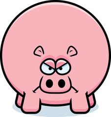 Angry Cartoon Hippo