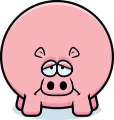 Sad Cartoon Hippo