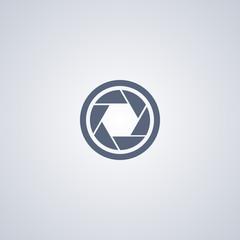 Aperture vector icon mode