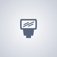 Equipment flash, vector best flat icon