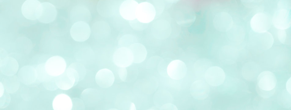 Blurred shiny blue background for New Year's greeting card. Fashionable colors palette - Marina.