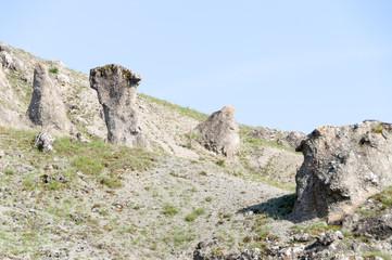 Natural phenomenon Stone Mushrooms