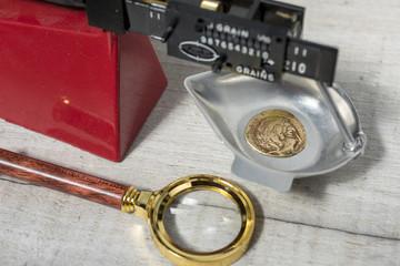 Monnaie antique pour collection numismatique