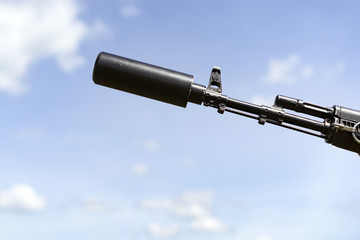 Silencer of military weapons, quiet and silent special operation