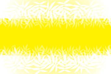 背景素材,フレーム,夏,若葉,若草,青葉,新緑,七夕飾り,笹葉,アルバムタイトル枠,コピースペース