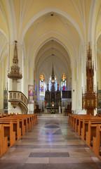 Church of St. Adalbert (St. Wojciech church) in Wawolnica. Poland