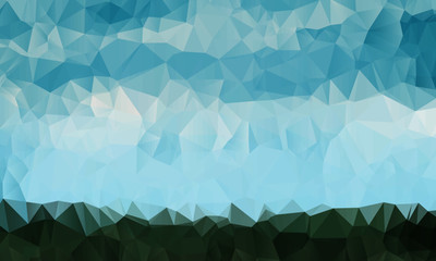 Grass and Sky Triangle Texture