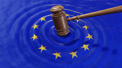 EU judge hammer sentencing European Union GDPR fine