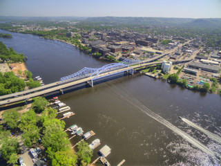 La Crosse is a Community in Wisconsin on the Mississippi River