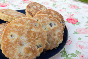 Welsh Cakes - also known as pics or griddle stones