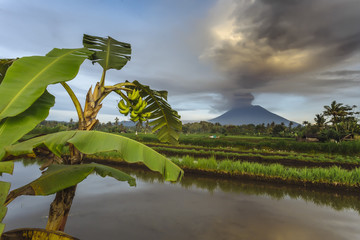 Volcano Agung,Bali,Indonesia