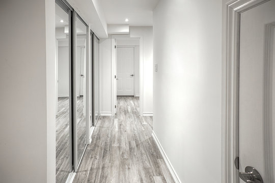 Bright hallway in an apartment