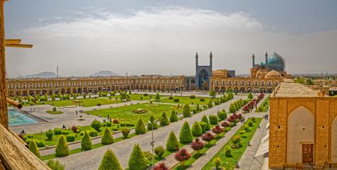 Isfahan Imam Square aerial
