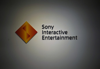Logo of Sony Interactive Entertainment is seen in Tokyo