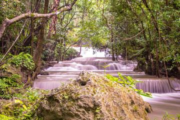 Huay Mae Kamin waterfall, Thailand