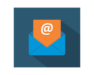 mail letter business company office corporate image vector icon logo