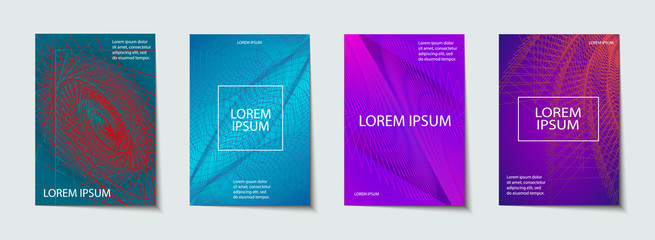 Backgrounds with Cool, Minimal Design. Applicable for Covers, Placards, Posters, Flyers and Banner. Vector illustration.