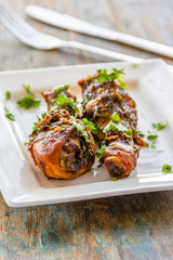Spicy Indian Style Chicken Drumsticks