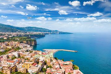 Coastline Sorrento city, Italy
