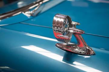 old american car detail