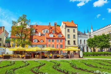Livu square, Riga