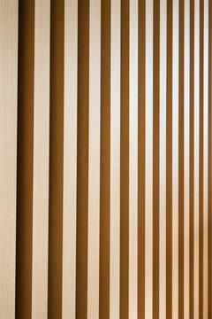 木の格子 / モダン建築のイメージ