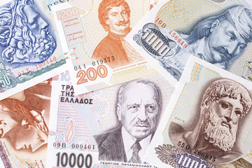 Greek money, a background