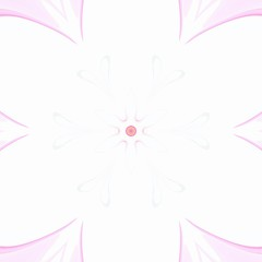 Pink flower. Pastel watercolor floral art. Oil painting style. Abstract digital artistic pattern. Background template for design products decoration. Creative print for canvas, textile or fabric.