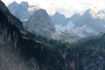 Seebener waterfall, the Austrian Alps