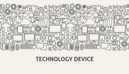 Technology Device Banner Concept