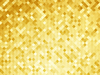 golden background mosaic tile texture