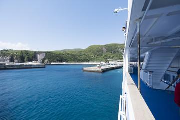 船からの港