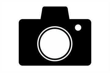 Photo Camera Icon Concept