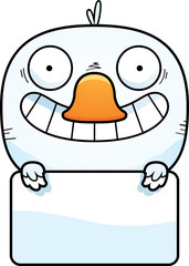 Cartoon Duckling Sign