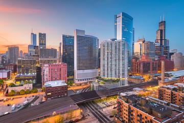 Chicago, Illinois, USA Cityscape