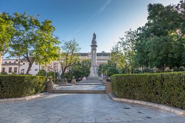 Plaza del Triunfo à Séville