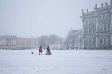 Palace Square, St.Petersburg, Russia