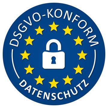 DSVGO Konform Button