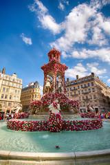 Fête de la rose à Lyon, Fontaine Des Jacobins