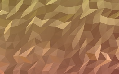 Abstract triangle geometrical orange background. Geometric origami style with gradient