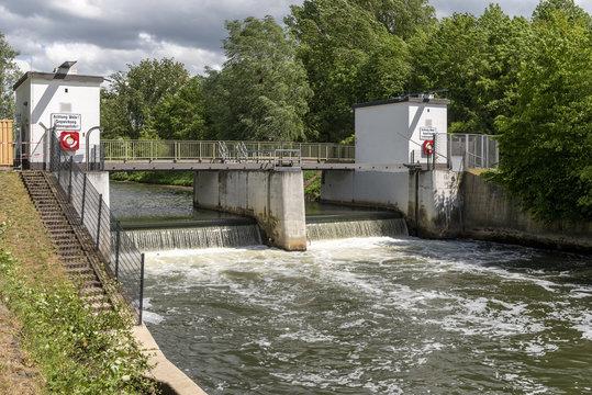 Wasserwehr bei Rödelheim in Frankfurt am Main