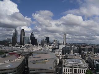 Downtown London Skyline