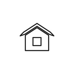 home line art vector icon for app and website