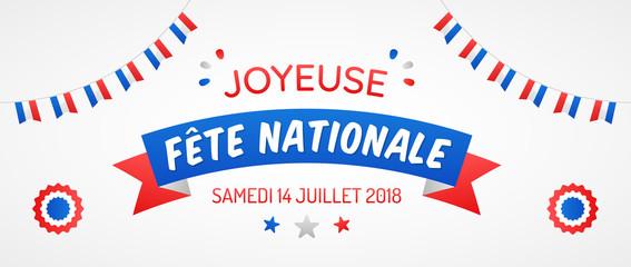 Fête Nationale - 14 Juillet 2018