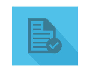 check note paper business company office corporate image vector icon logo