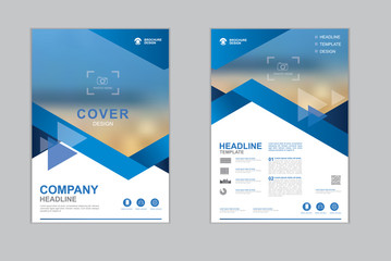 Templates presentation for annual report, flyer, leaflet, brochure, corporate report, advertising. vector design.