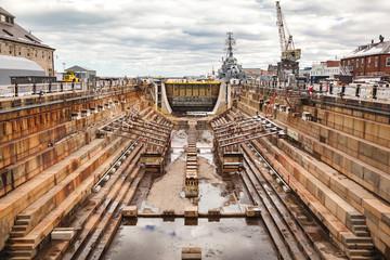 Charlestown Navy Yard Dry Dock 1