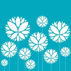 fond abstrait, fleur